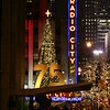 Radio city music hall at Christmas time.