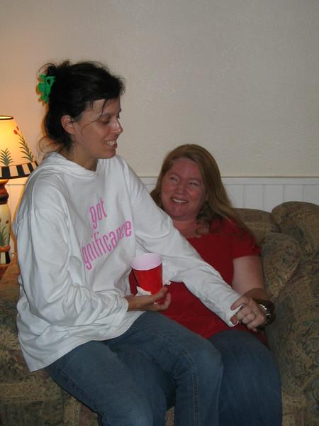 Lourdes and Katie