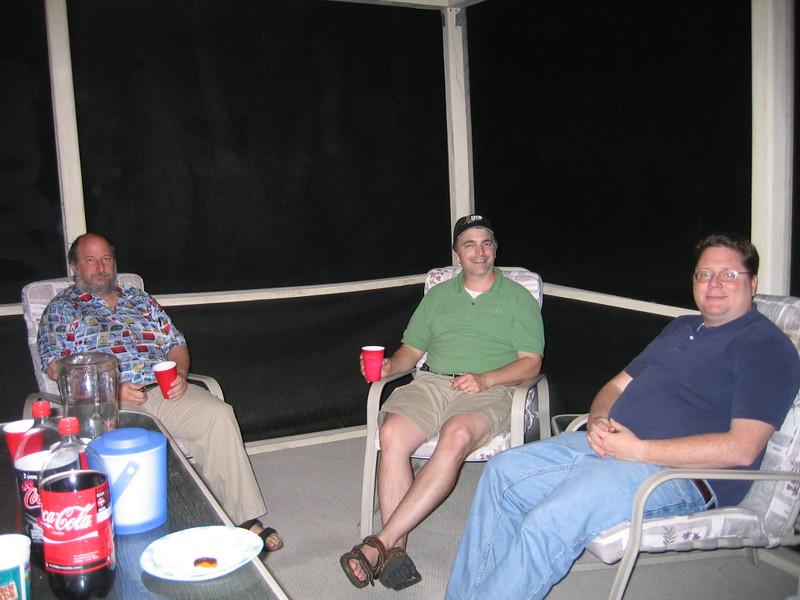 Doug, Chris and Shane