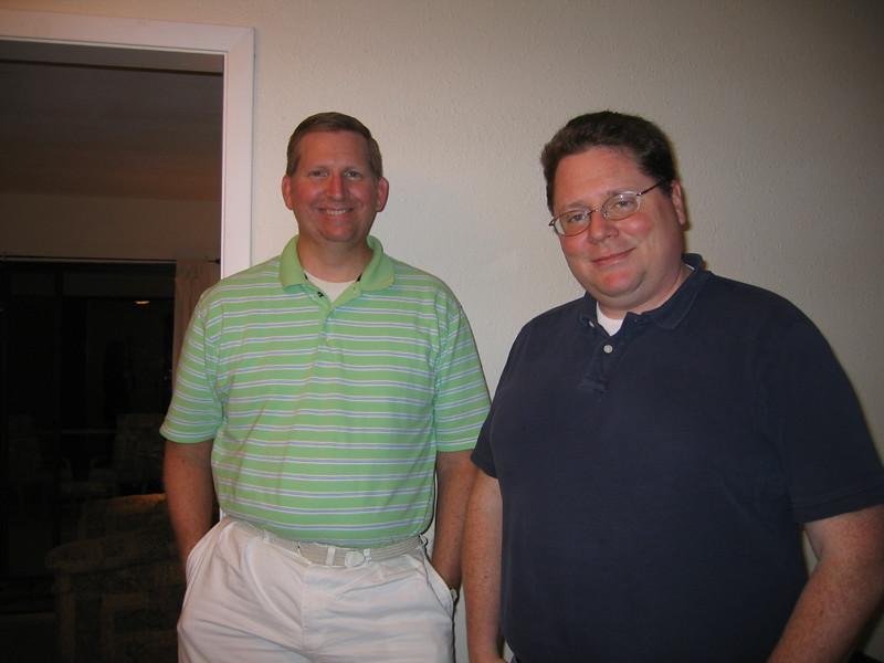 Brian and Shane