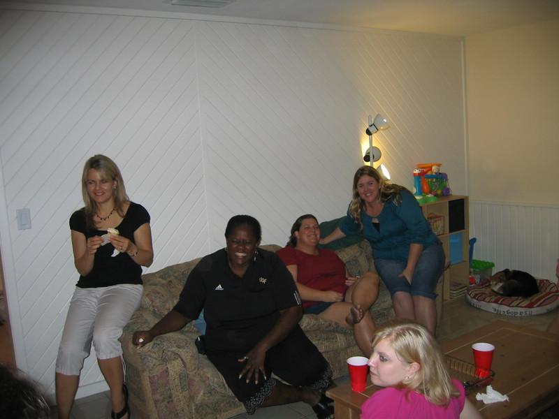 Karen, Tyger, Shannon, Jen, Mikka (foreground)