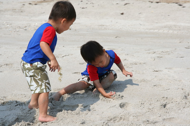 Discovering the sand