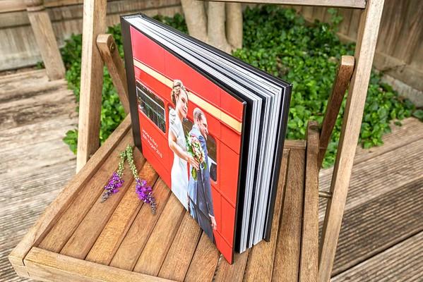 layflat wedding album pages