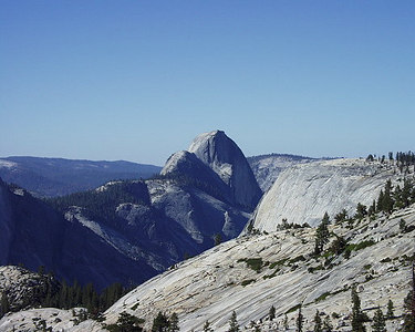 Half Dome - The view was spectacular