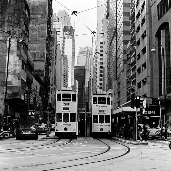 Twin trams