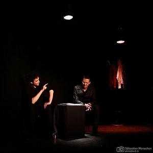 En toute sécurité - MeS Nicolas Vivier - Théâtricul - Genève - 2014  - du 14 au 18 mai 2014, ouverture 19h30, début 20h, réservations: contact@compagnielaruche.ch