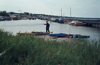 27/6; arrival at Mariehamn where Lena left for home