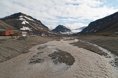 Surplus from the closed coal mines around Longyearbyen