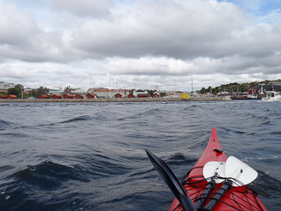 Approaching Strömstad