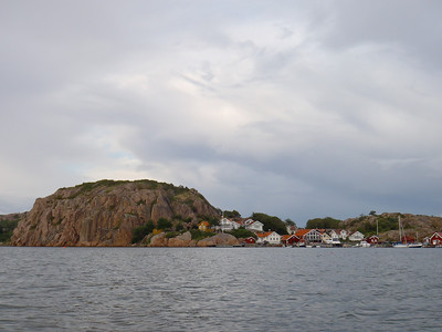 At the entrance of Hamburgsund