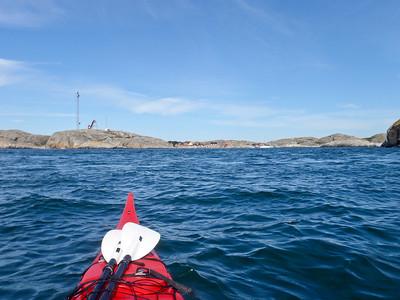 Approaching Väderöarna