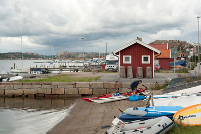 Starting from Bovallstrand Sunday afternoon with rain hanging in the sky