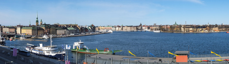 Skeppsbron, Blasieholmen, Skeppsholmen from Katarinavägen