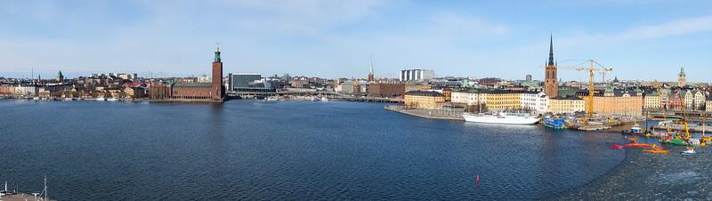 Norrmälarstrand, Riddarholmen from Monteliusvägen