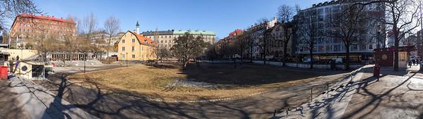Björns trädgård from Götgatan