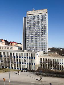 Folksam building at Norra Hammarbyhamnen