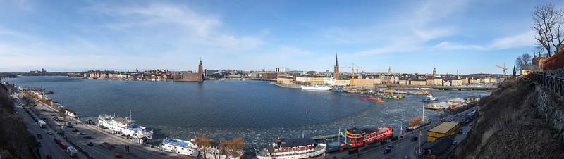 Norrmälarstrand, Riddarholmen, Gamla stan from Monteliusvägen