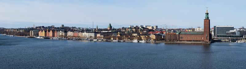 Norrmälarstrand from Monteliusvägen