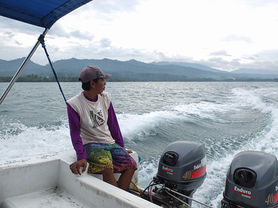 On our way from Carita for Krakatau early on Monday 14/5