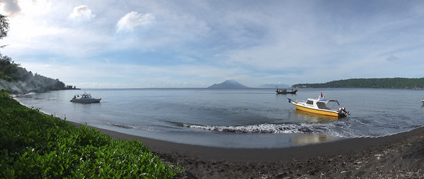 Arriving at Anak Krakatau on Monday afternoon 14/5