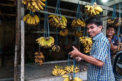 Drive-in banana store