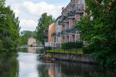 "Nice senior flats at Svartån, Örebro. 2013-06-03 14:08, 59°16'23"" N 15°13'59"" E"
