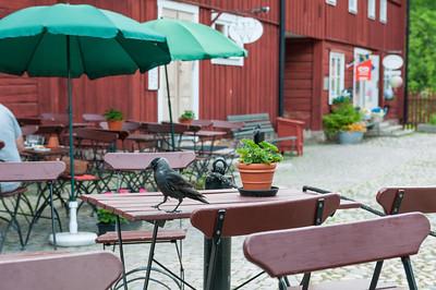 """Lunch at Cajsa Warg, Örebro-Wadköping. 2013-06-03 13:52, 59°16'21"""" N 15°13'54"""" E"""