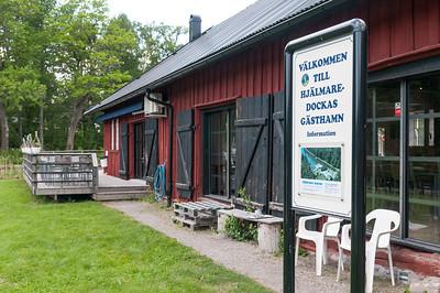 """Late lunch at Hällby, Hjälmare Kanal. 2013-06-04 17:29, 59°22'53"""" N 15°56'36"""" E"""