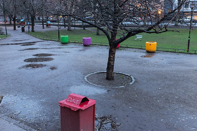 Björns Trädgård, Stockholm, December 2013