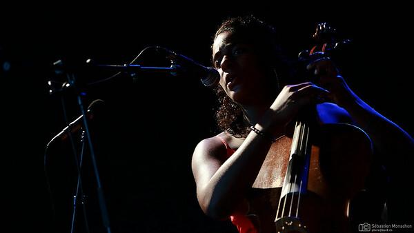 Leyla McCalla - Festival de la Cité - Lausanne - CH - 2014