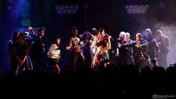 Mykki Blanco - Festival de la Cité - Lausanne - CH - 2014