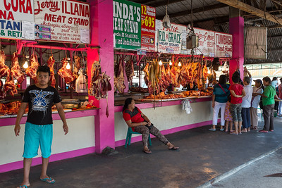 Tagaytay meat market