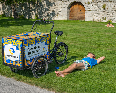 At rest, Visby, August 2015