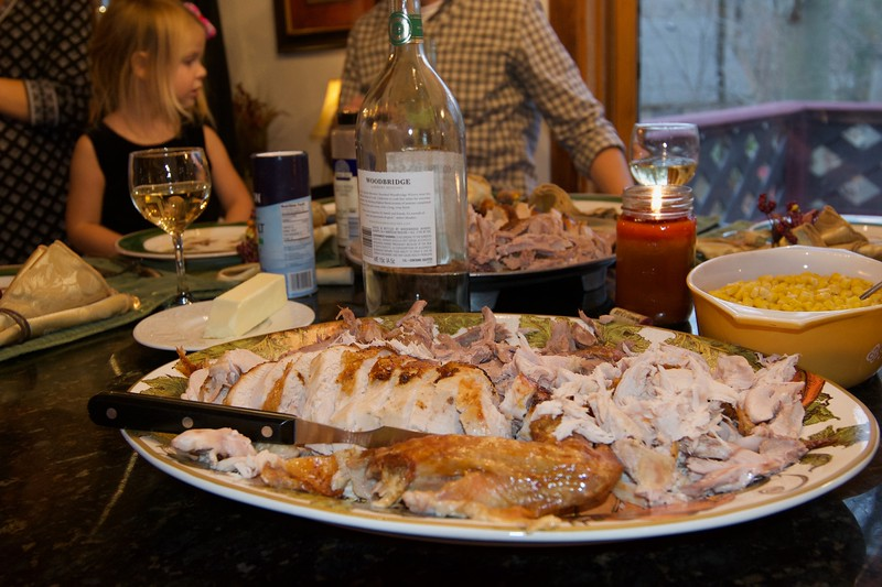 Thanksgiving 2016 at the Craven house.