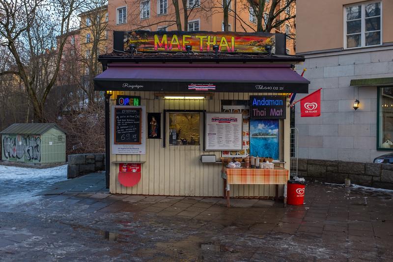 Thai food store, Stockholm, February 2016