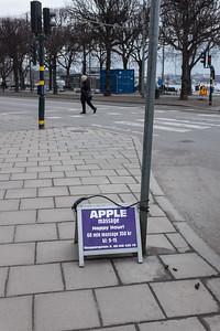 Happy hour! Strandvägen, Stockholm, March 2016