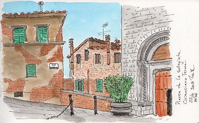 Piazza de la Gollegiata, Chianciano Terme