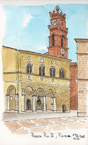 Piazza Pio II, Pienza