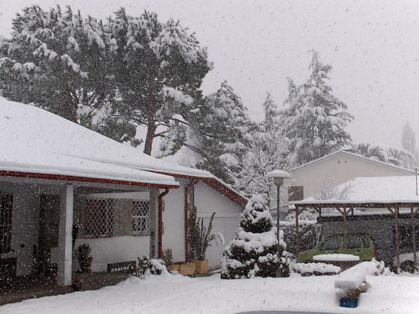 Nevada en El Escorial, Calle Bailén, 1 - Rancho-K