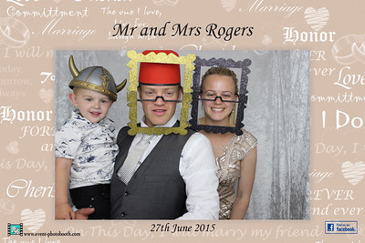 Photographs of Amy and Wayne Rogers Wedding in the three counties hotel Hereford