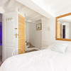 En-suite with subtle lighting