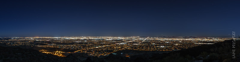 Phoenix Panorama from South Mountain