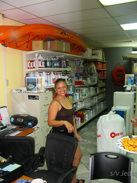 IMG_1062.JPG<br /> Cruising Aruba.<br /> Happy faces in the marina office... we survived ;-)