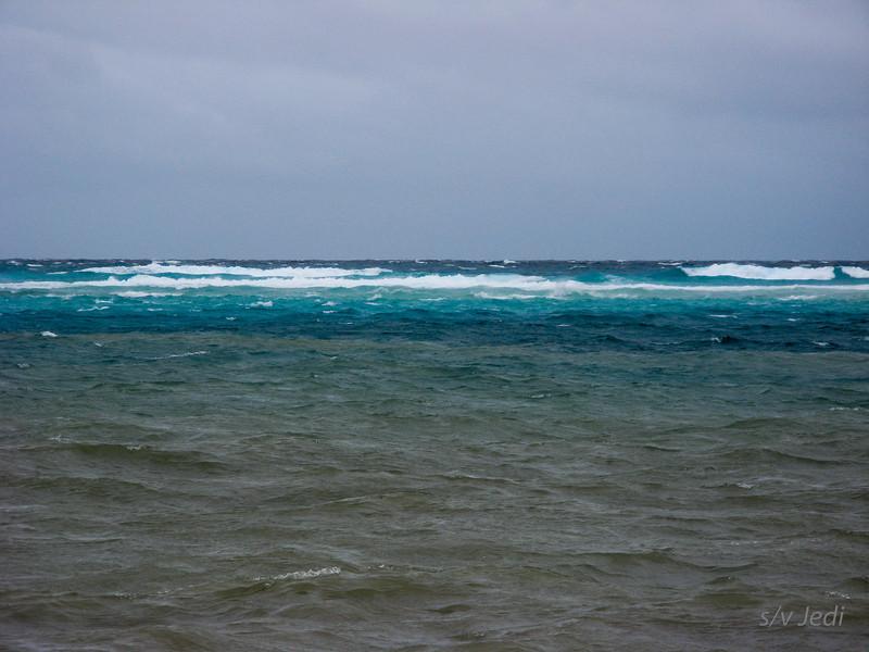 IMG_1058.JPG<br /> Cruising Aruba.<br /> The brown water is the run-off. 80% of Aruba was flooded.