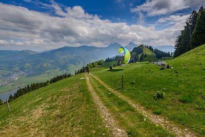 Paragliding school II