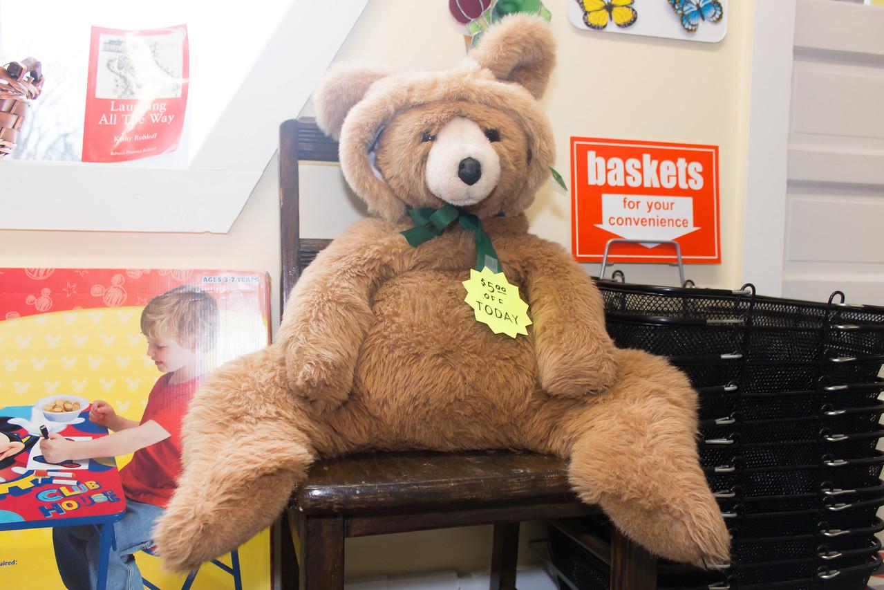 Guard Bear On Duty @ Vermont Variety