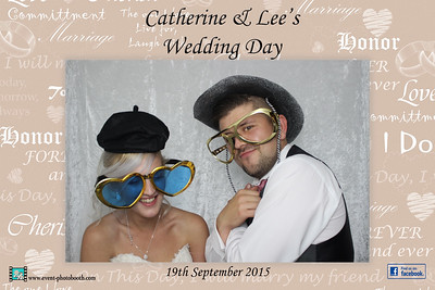 Pics from hereford Photo Booth hire (event-photobboth.com) from Catherine and lee's wedding  Photos by Anthony Boocock Photography www.event-photobooth.com