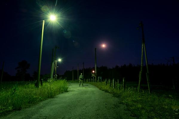 Crossing Of Green Lights