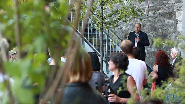 Discours d'ouverture - Arches du Pont Bessières - Festival de la Cité - 5 juillet 2016