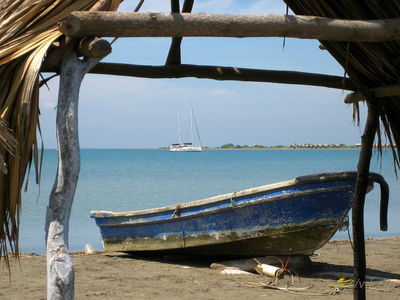 IMG_1232.jpg<br /> Cruising Colombia: Puerto Velero.<br /> What a view! Taken from the beach at Puerto Velero, Colombia.